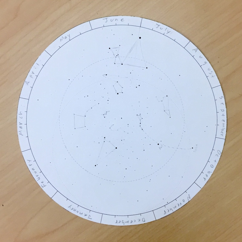 photograph relating to Planisphere Printable titled Printable Planispheres
