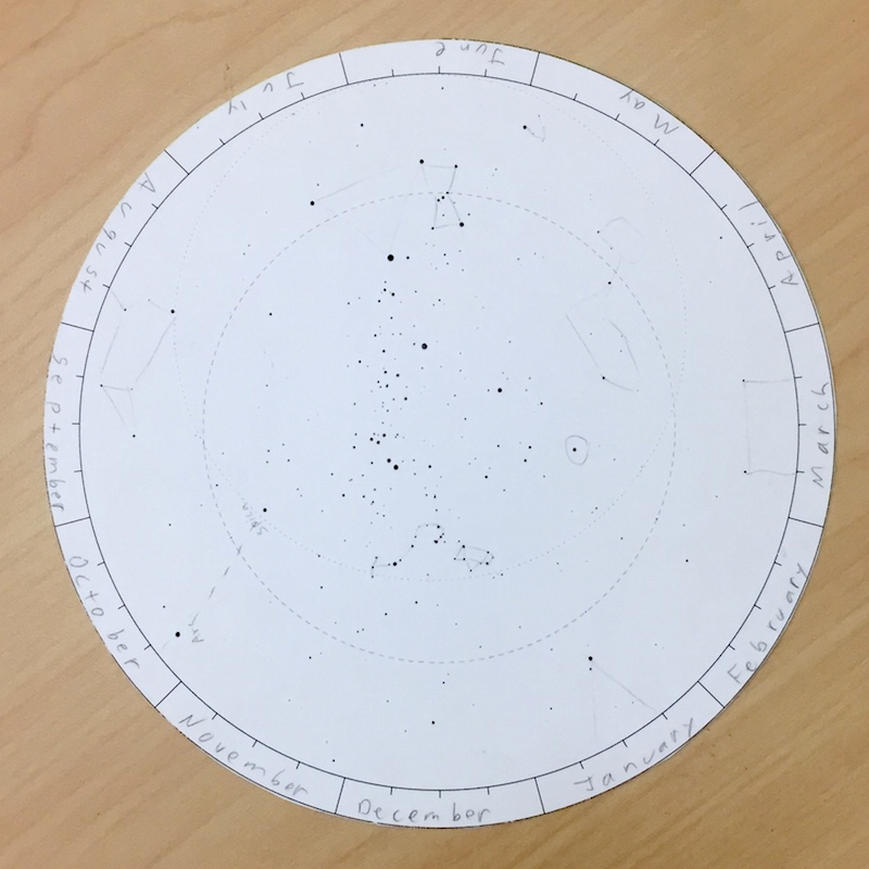 picture relating to Printable Planisphere named Printable Planispheres